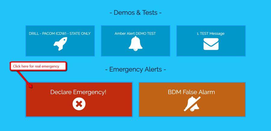 Better Software Design Ideas for the Hawaii Emergency Alert